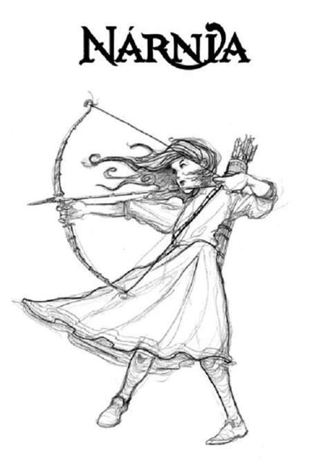 caspian narnia susan coloring page coloring pages