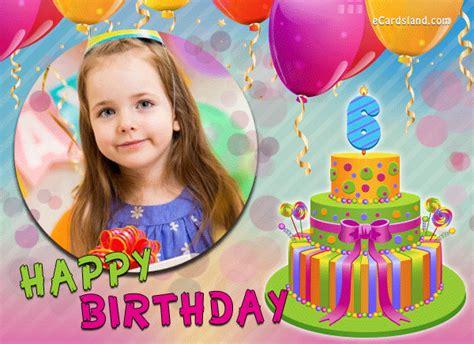 Happy Th Birthday Ecards by Happy 6th Birthday Ecard Choose Ecard From Birthday Ecards