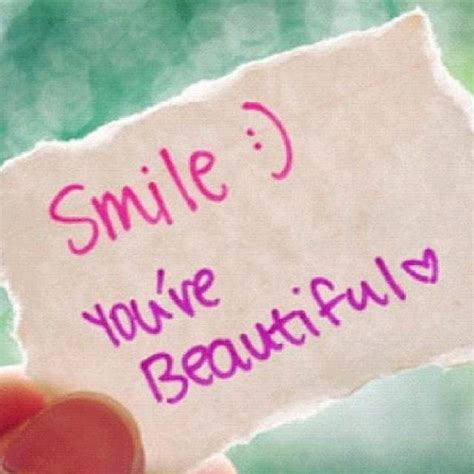 quotes about a beautiful smile quotesgram