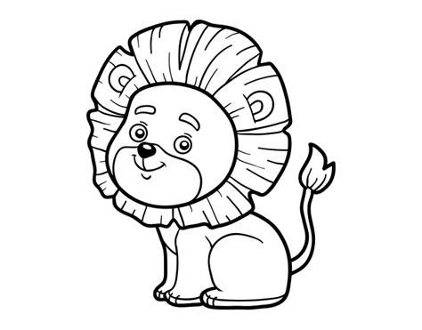 little lion coloring pages little lion coloring page coloringcrew com