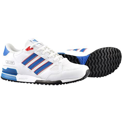 adidas originals zx 750 white blue s sneakers shoes shoe new 700 ebay