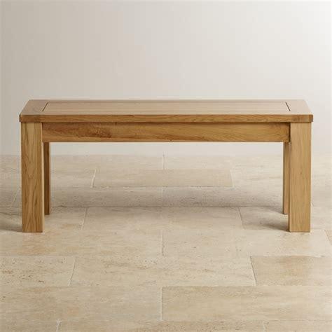bench oak small bench in natural solid oak oak furniture land