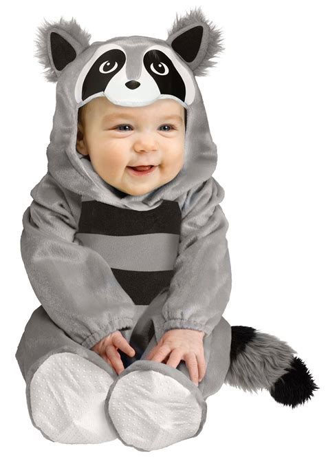 baby costume baby raccoon costume