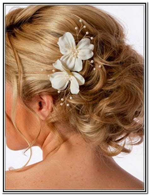 Wedding Hairstyles For Medium Length Hair With Flowers by Sweet 15 Bun Hairstyles New Style For 2016 2017