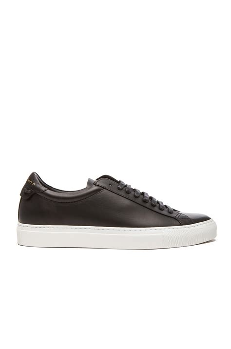 givenchy sneakers mens givenchy knots low top leather sneakers in black for