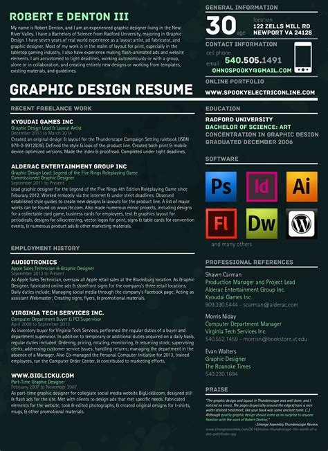graphic design cv online graphic design resume description free professional