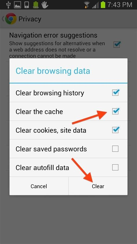 internet section how to clear your cache on any web browser 171 digiwonk