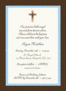 baby boy baptism invitation boy or baby boy