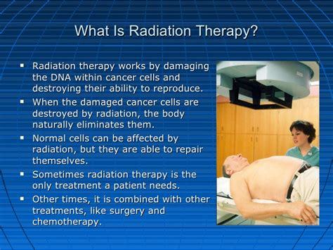 what is therapy radiation therapy