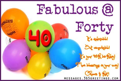 Happy 40th Birthday Wishes Image Happy 40th Birthday Wishes Download