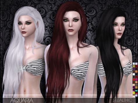vanity female hair by stealthic at tsr sims 4 updates stealthic s sims 4 downloads