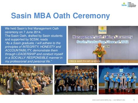 Mba Oath Ceremony Burden by Scsm Year End Report 2014