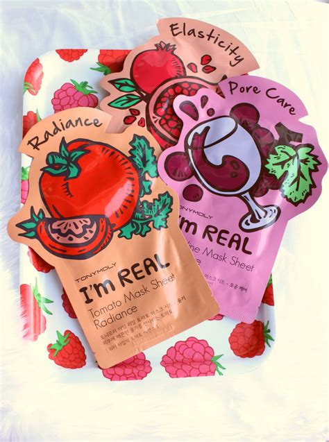 Tony Moly tony moly i m real sheet masks review the sunday