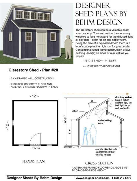 clerestory shed images  pinterest backyard