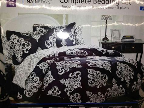 walmart black and white bedding damask print bedding walmart home decor pinterest