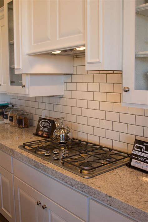 subway tile with grout creek kitchen
