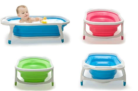 baby folding bathtub baby foldable bath tub