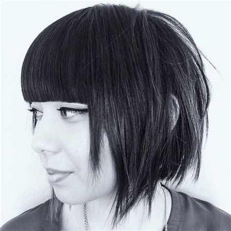 edgy haircuts with bangs long hair 30 chic and beautiful short layered haircuts