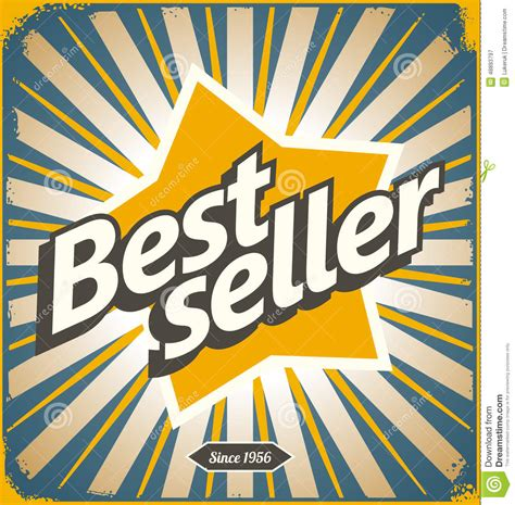 Bestseller Retro Tin Sign Design Stock Vector   Image