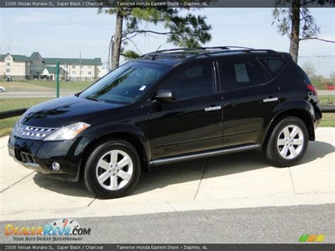 2006 nissan murano 2006 nissan murano sl black charcoal photo 8