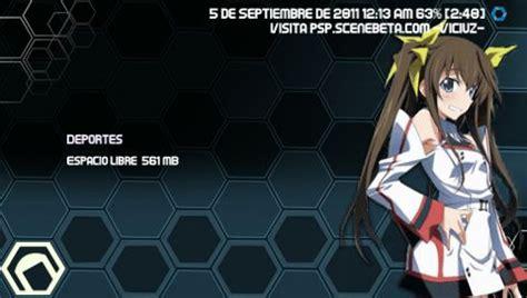 psp theme anime ctf 6 60 temas psp formato ctf para 6 60 psp scenebeta com
