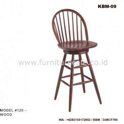 Kursi Putar Bayi kursi bar kayu jati harga murah jual kursi dan meja bar