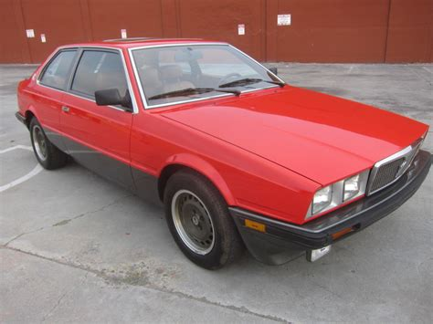 1985 maserati biturbo for no reserve 1985 maserati biturbo coupe for sale on bat