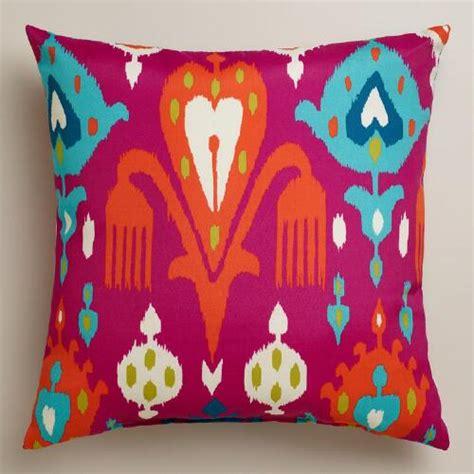 world market pillows sale fuchsia aberdeen outdoor throw pillow world market