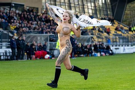 tattooed stripper football fans hire tattooed to invade