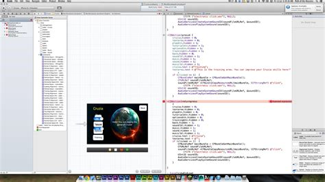 xcode sle game code iphone expected expression error in xcode for ios