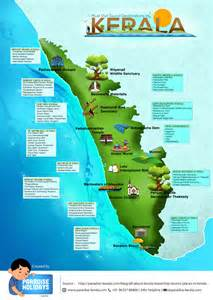 must visit tourist destinations in kerala infographic