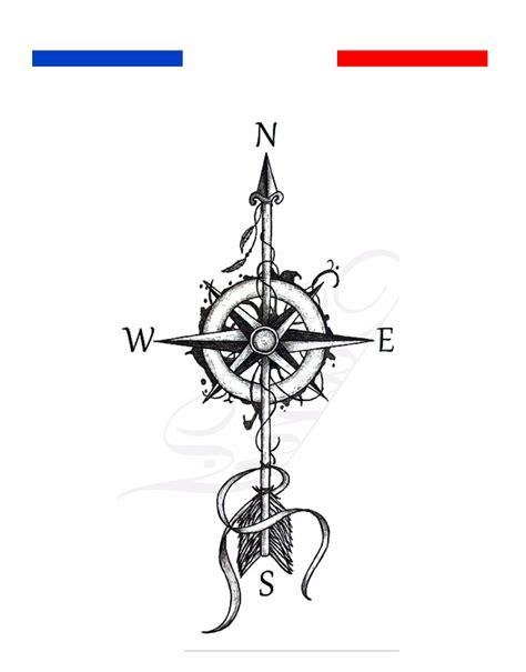 tatouage rose des vents mon petit tatouage temporaire