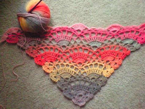 free pattern easy crochet triangle shawl crochet pattern for a shawl