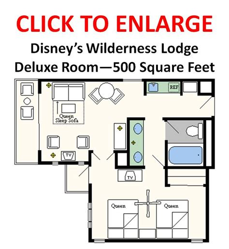 floor plans of walt disney world resort hotels - Disney World Floor Plans
