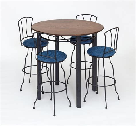 wrought iron pub table wrought iron pub tables images bar height dining table set