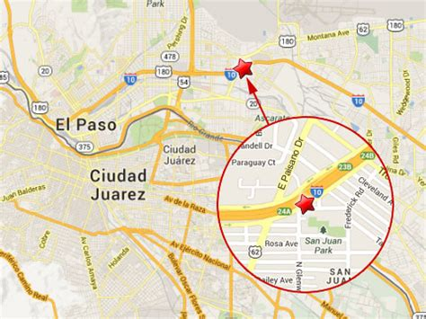 where is el paso texas located on a map semi truck falls overpass in el paso tx truck lawyer news