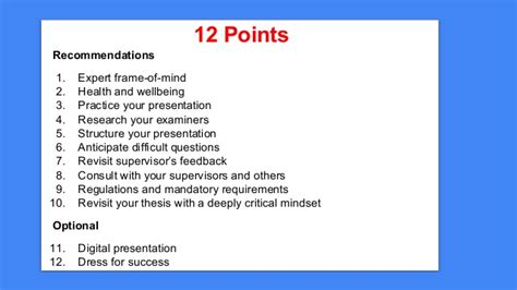 Preparing For Your Viva Voce Dissertation Defence Dissertation Viva Presentation