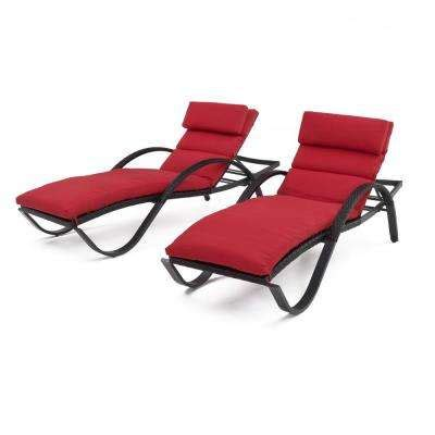 Rst Brands Deco Chaise Lounge 4 Patio Furniture Outdoor Chaise Lounges Patio Chairs The Home Depot