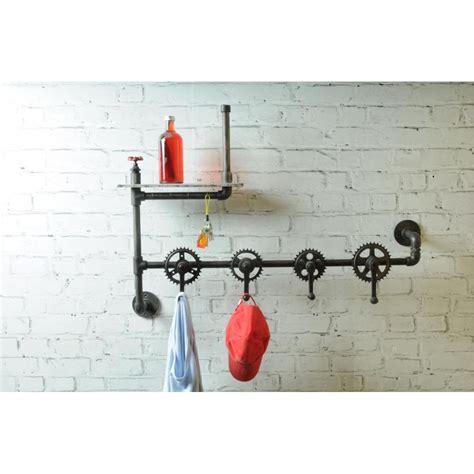 bicycle coat bicycle coat rack hanger hang your hat on bike cog shelves