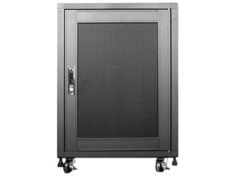 small computer rack cabinet istarusa wn1510 15u black server racks cabinets newegg com