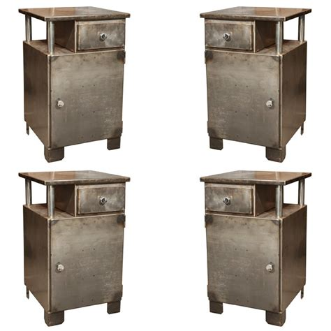 Industrial Metal Nightstand industrial metal nightstands sold at 1stdibs