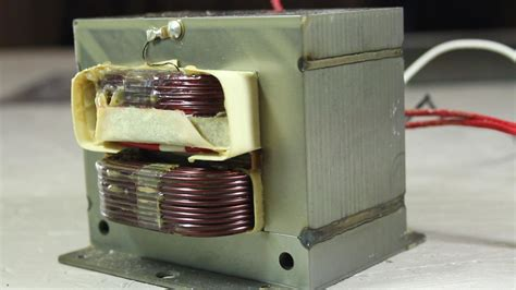 Metaal In Magnetron by How To Turn A Microwave Oven Transformer Into A High