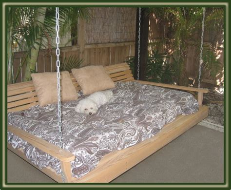 bed with swing porch swings love on pinterest porch swings front