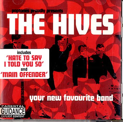 Cd The Hives Your New Favourite Band Digi Obi cd shop for cheap cds and save