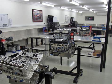 Interior Room workshop tour kre race engines