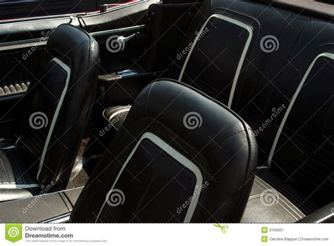 Leather For Car Interior by Black Leather Car Interior Stock Image Image 3156001