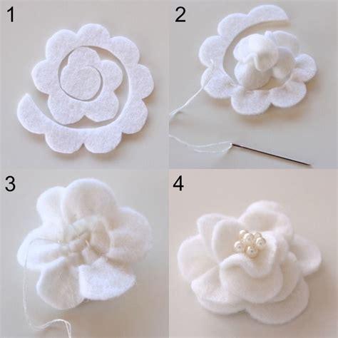 realizzare fiori di tessuto 17 migliori idee su tutorial per creare fiori di stoffa su