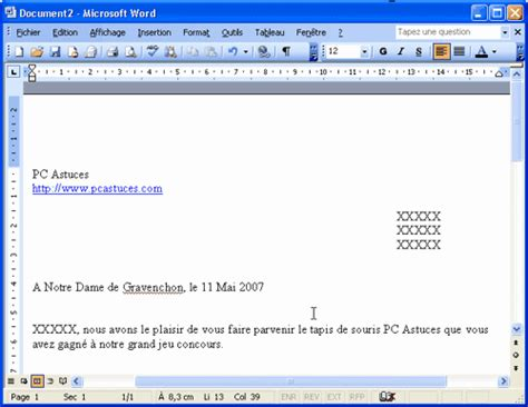Lettre De Motivation Chef De Zone Export modele lettre word 2003 document