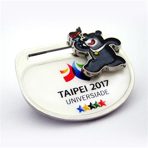 Bear Bravo Sliding Pin   Pin and Badge Manufacturer   Chung Jen International Co.,Ltd.