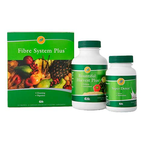 4life En Espaã Ol Detox by Cleanse Detox Package Includes Firbre System Detox